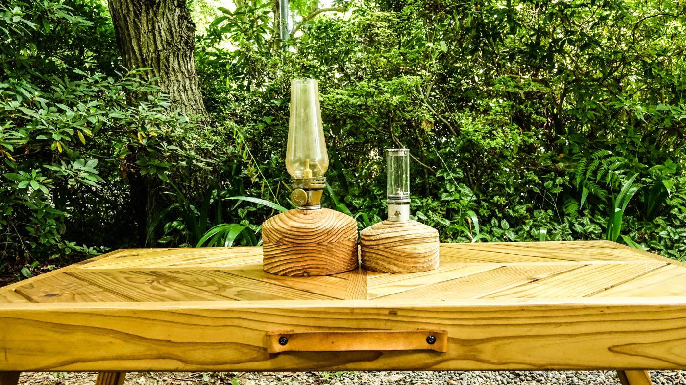 木製のガレージブランドkokaze