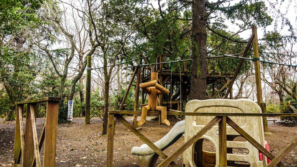 有野実苑オートキャンプ場の風景